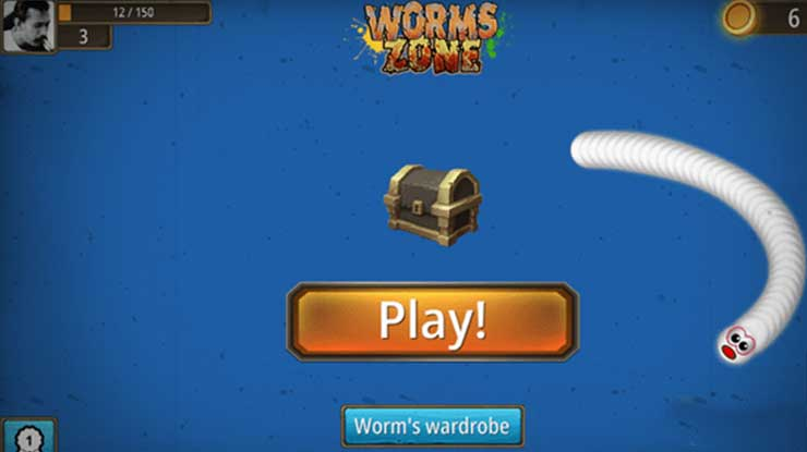 Cara Mabar Worms Zone Online