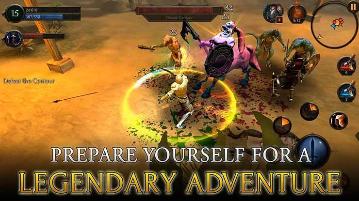 Arcane Quest Legends – Offline RPG