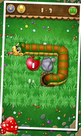 Snake And Apples