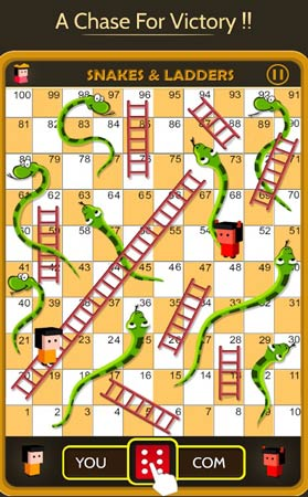 Snakes Ladders King