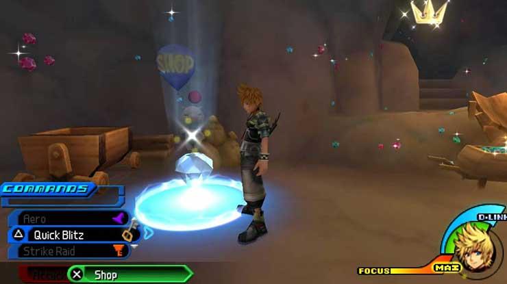 1. Kingdom Hearts Birth by Sleep