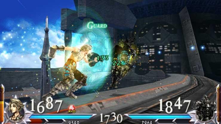 2. Dissidia 012 Final Fantasy
