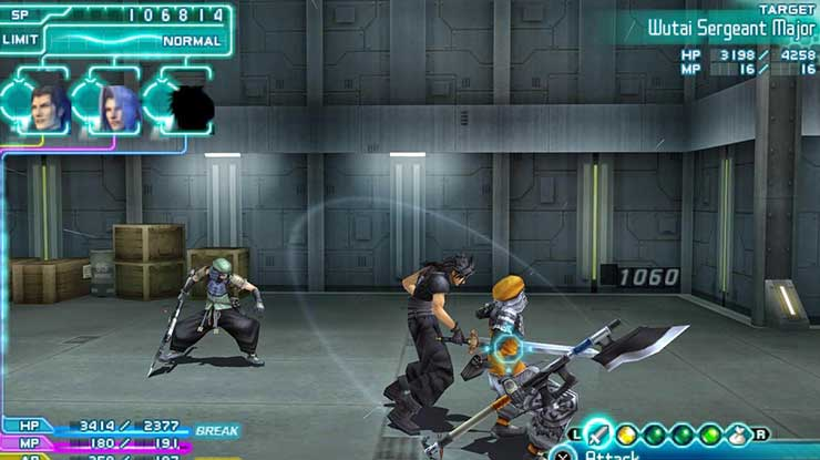 4. Crisis Core Final Fantasy 7