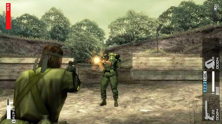 6. Metal Gear Solid Peace Walker