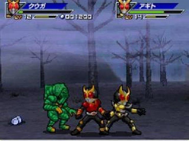 All Kamen Rider Rider Generation 1