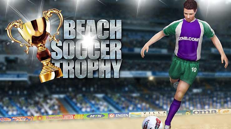 Beach Soccer Trophy