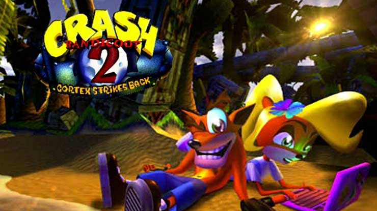 Crash Bandicot 2 Cortex Strike Back