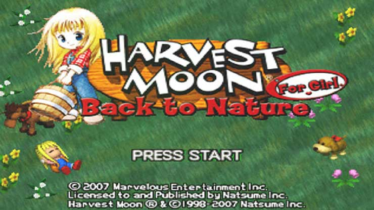 Harvest Moon BTN Girl