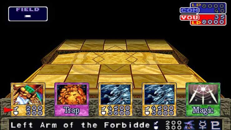 Yu Gi Oh Forbiden Memories