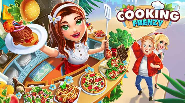 1. Cooking Frenzy