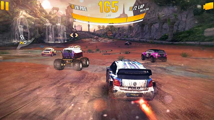 10. Asphalt Xtreme Rally Racing