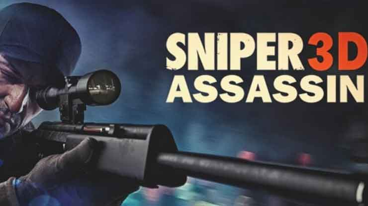 12. Sniper 3D Assassin