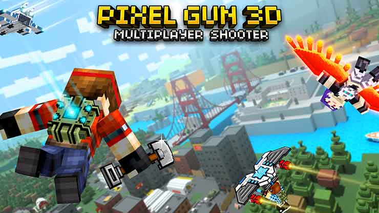 15. Pixel Gun 3D FPS PvP Shooter