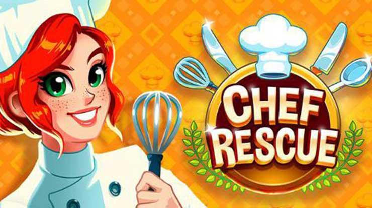 16. Chef Rescue Game Kendali