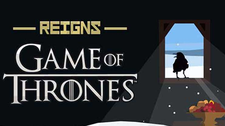 20. Reigns Game of Thrones