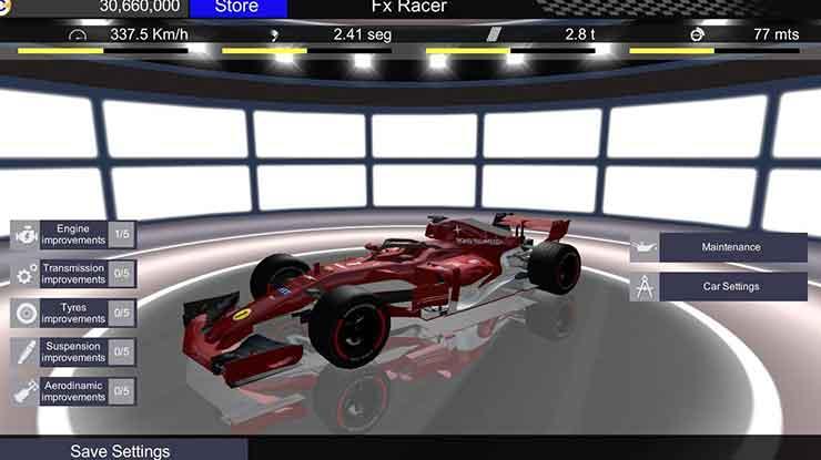 27. Fx Racer