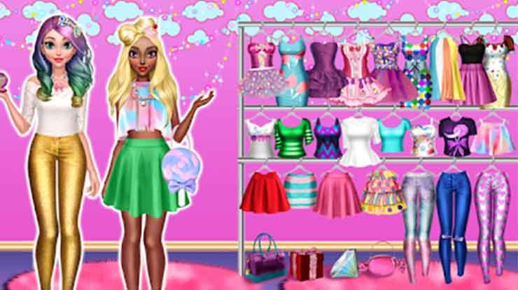 28. Candy Fashion Dress Up Makeup Game