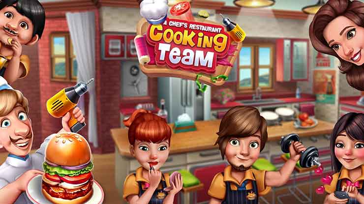 34. Cooking Team Game Chef Restoran Roger
