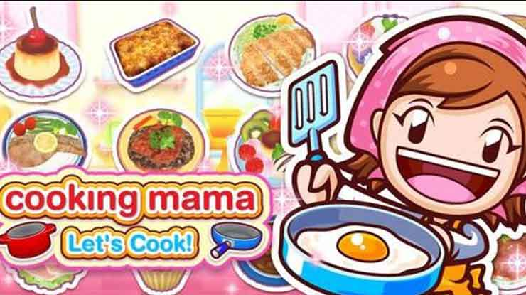 4. Cooking Mama Lets cook