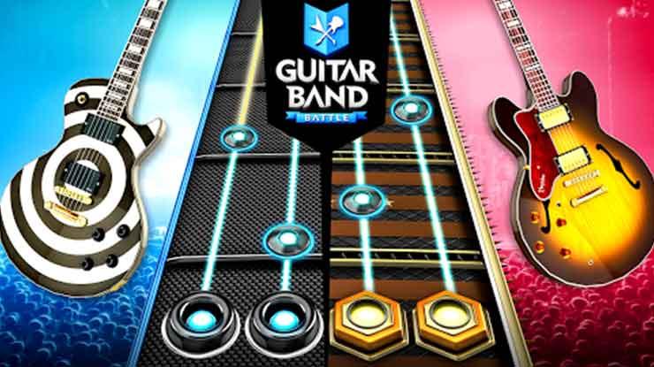 40. Guitar Band Battle