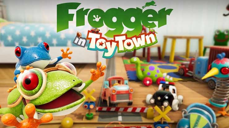 5. Frogger in Toy Town