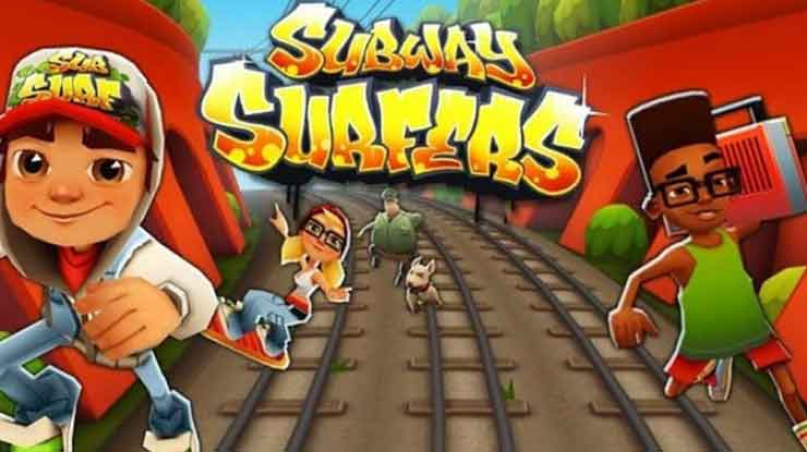 55. Subway Surfers