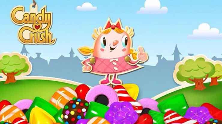 59. Candy Crush Saga