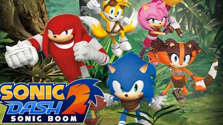 8. Sonic Dash Sonic Boom