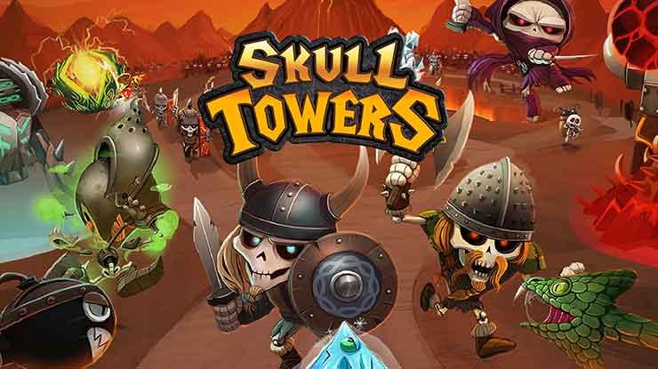 9. Skull Towers