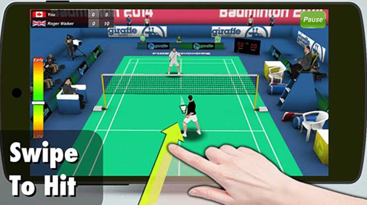 Badminton 3D – Super Creative