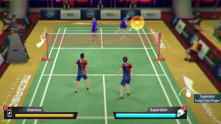 Badminton Battle