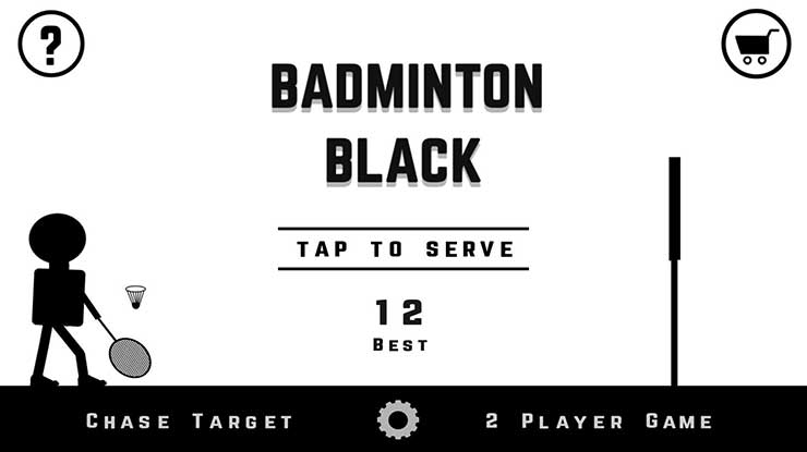 Badminton Black