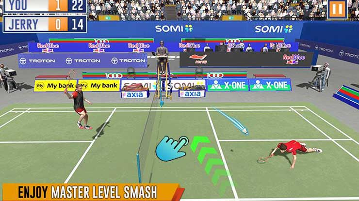 Badminton International Game
