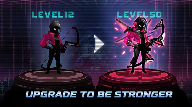 Cyber Fighters Legends of Shadow Battle