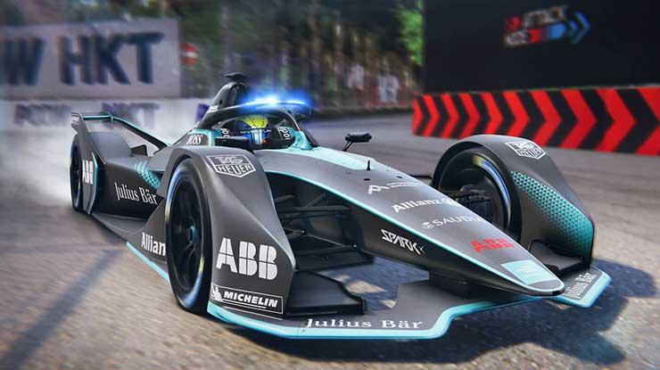 Ghost Racing Formula E