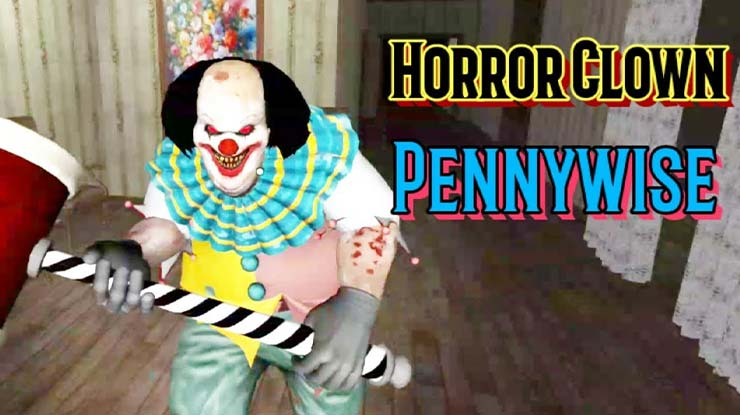 Horror Clown Pennywise Escape Game