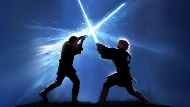 Lightsaber Battle Duel 3D