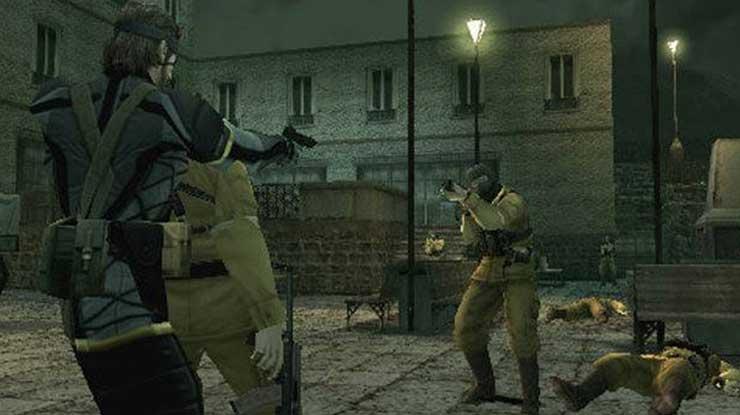 Metal Gear Portable Ops