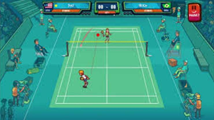 Super Stick Badminton