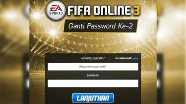 Cara Mengatasi Lupa Sequrity Question FIFA Online 3 Terbaru