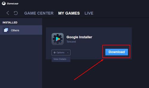 5. Instal Google Installer