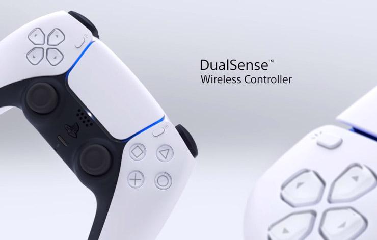 Desain Controller PlayStation 5