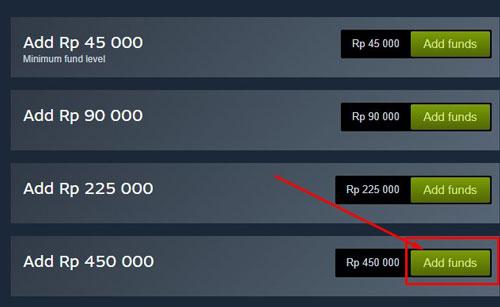 Setelah ketemu game yang diinginkan maka tinggal pilih paket game dari yang item lengkap ataupun standart sobat klik Add To Cart