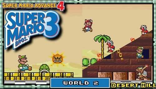 Super Mario Advance 4 Super Mario Bros 3