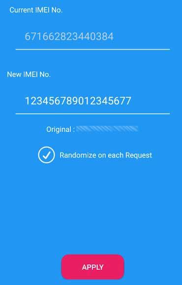 4. Buka Aplikasi Xposed Imei Changer