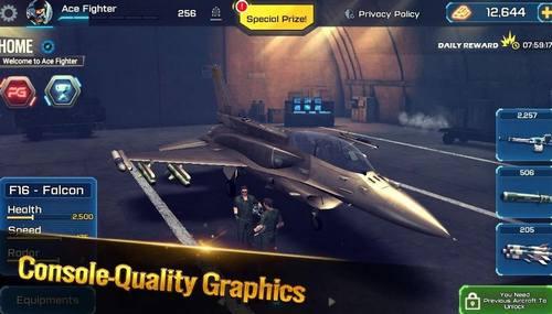 Ace Fighter Modern Air Combat Jet Warplanes