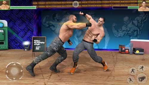 Bodybuilder Fighting Club 2019 Wrestling Games