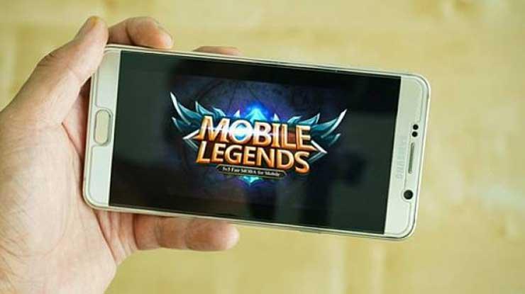 Buka game Mobile Legend