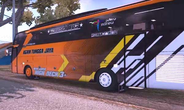 Bus Simulator Indonesia Livery