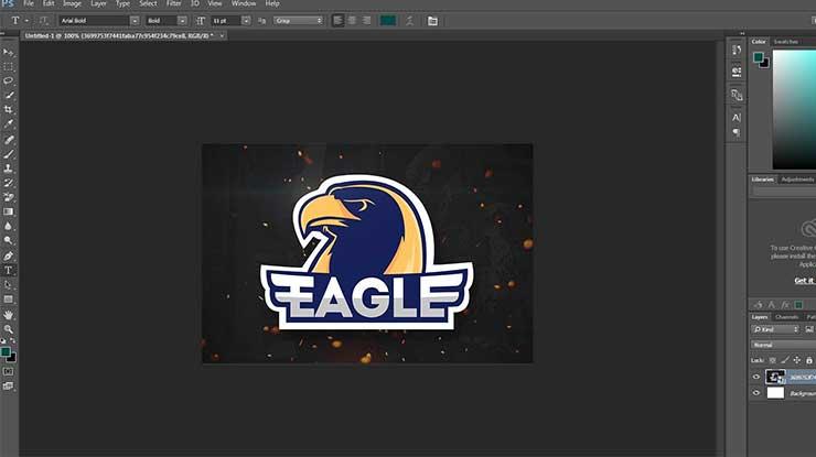 Cara Membuat Logo eSport di PC
